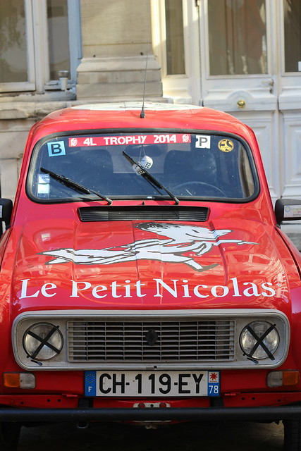 Voiture 4L Trophy - Expo Petit Nicolas - Mairie du IVe, Paris