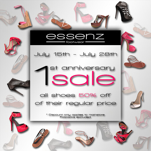 Essenz - Anniversary sale July 15th - July 28th