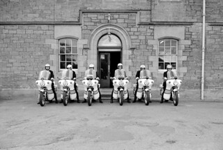 Inverness Constabulary motorcycles 1974