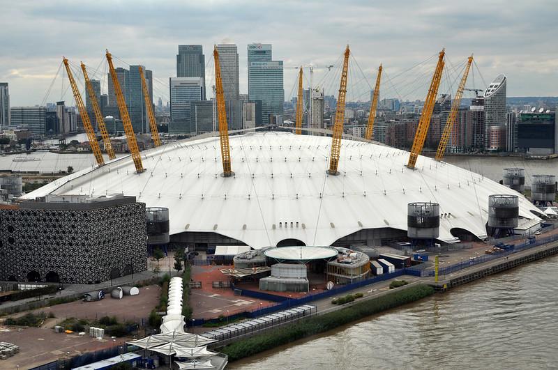 O2 / Millennium Dome. London.