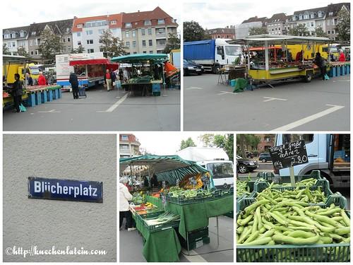 ©Wochenmarkt Blücherplatz