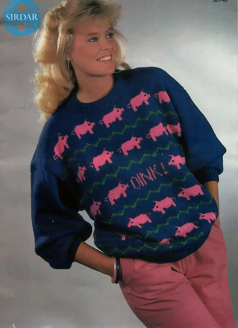 Sirdar Oink Knitting Pattern