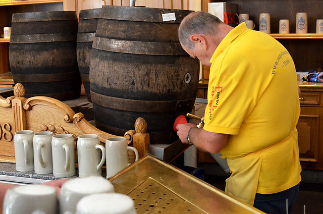 The Beer Man, Augustiner Bräu, Salzburg, Austria