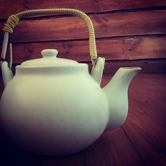 pottery, kettle, still life photography, ceramic, teapot, lighting,