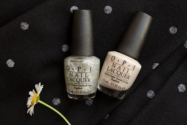 01 OPI Did You'Ear About Van Gogh? + OPI Pirouette My Whistle