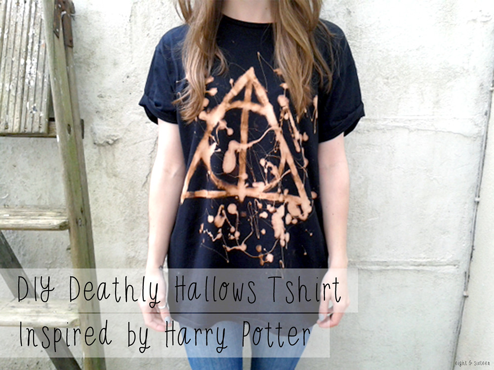 Eight and sixteen uk craft diy blog diy deathly hallows tshirt diy deathly hallows tshirt inspired by harry potter solutioingenieria Image collections