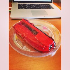 My first week at FCC Salem, my stapler was in jello. I guess this is fitting for my last week here...