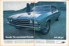 model car(0.0), chevrolet(1.0), automobile(1.0), automotive exterior(1.0), vehicle(1.0), sedan(1.0), chevrolet chevelle(1.0), vintage car(1.0), land vehicle(1.0), muscle car(1.0),