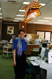 Launch of library OPAC, 1994