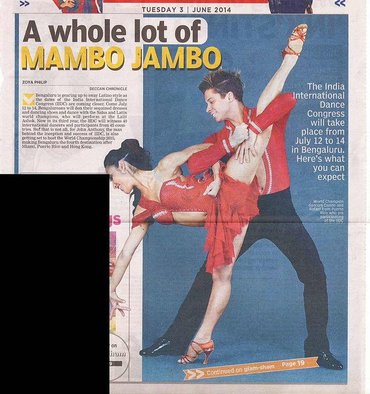 David and Paulina - 2014 India International Dance Congress