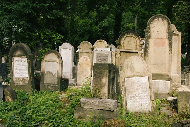 Cementerio judío en Cracovia