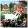 An afternoon with great pizza and great friends at the Red Barn Farm Pizza in Northfield, MN.