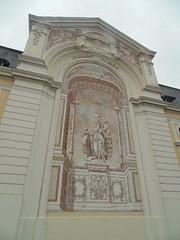 Une fresque restaurée-Palais Beaumont-ville de Pau-France