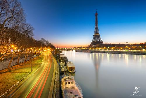 Blue Hour & Eiffel Tower