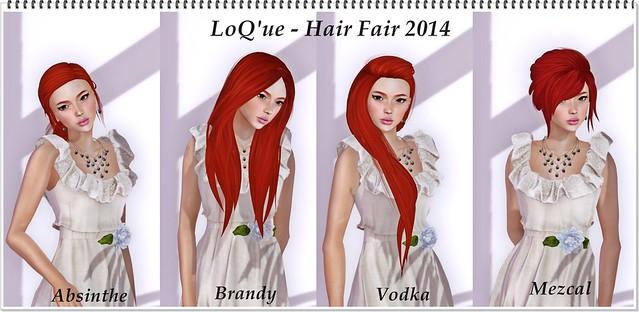 LoQue - Hair Fair 2014
