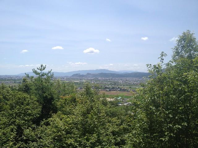 大野権現山からの眺望(金生山)