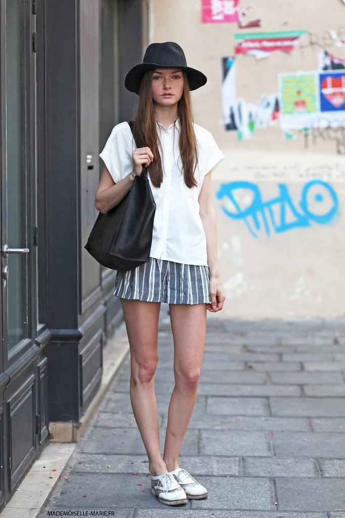 Blair, street style Paris