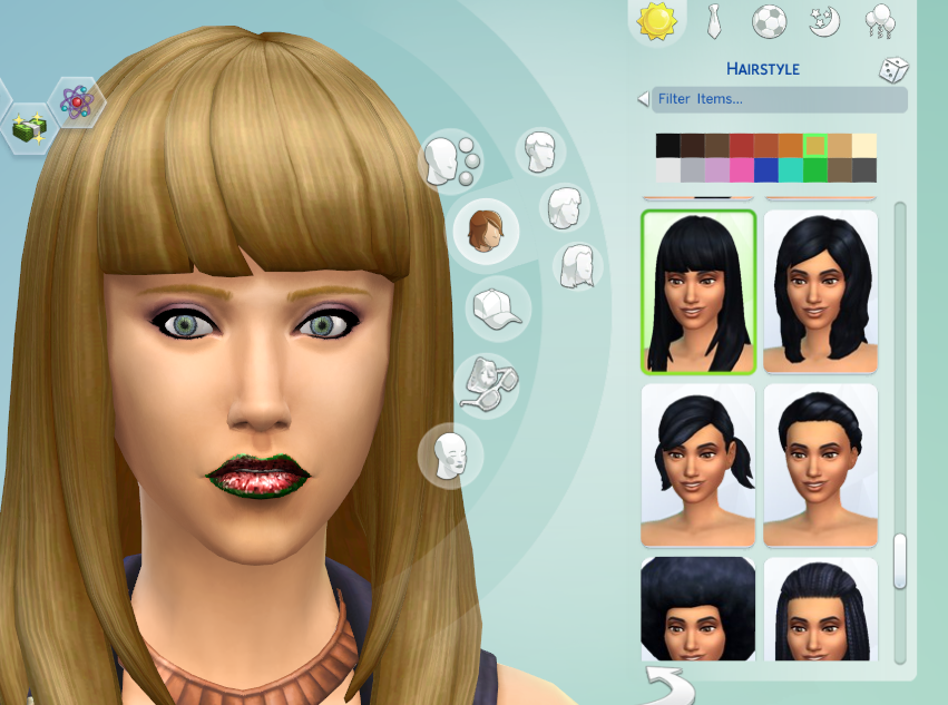 Le Style Ts4 Cc New Preview New Blonde Hair Color Please Vote