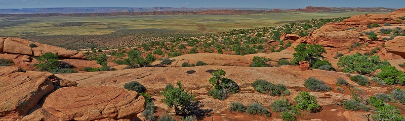 Landscape Panorama - Arches National Park