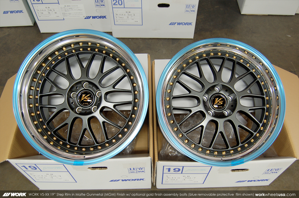 WORK Wheels Color (MGM)