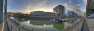 Köln Rheinau Hafen - Panorama