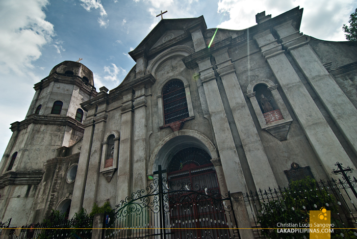 Facade of the Old Dagupan Cathedral