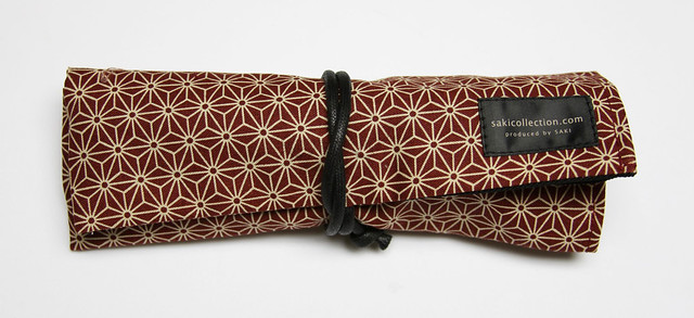 Review: Saki Roll Pen Case + Traditional Japanese Fabric @JetPens