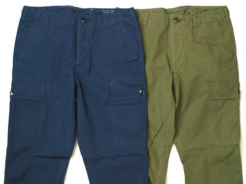J.Crew / Slim Garment-Dyed Cargo Pant