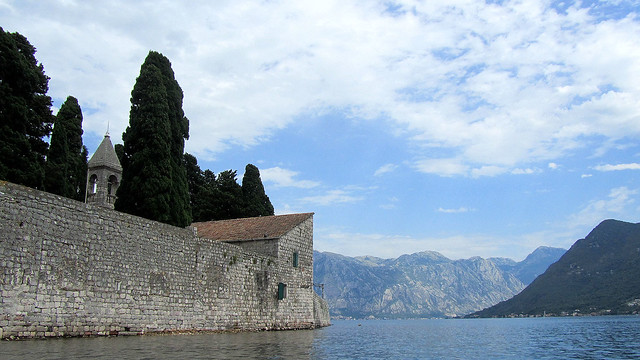 Kayaking in the Bay of Kotor