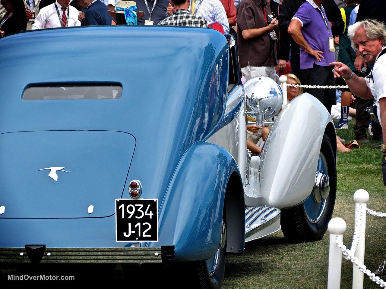 Pebble Beach 2014-1934 Hispano-Suiza Coupe Chauffeur