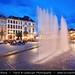 Belgium - Wallonia - Mons - European Capital of Culture 2015 - Grand Place at Dusk - Twilight - Blue Hour - Night