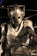 Doctor Who Cyberman Cosplay Vacuum Formed