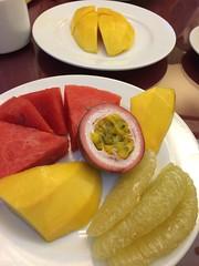 日, 2014-05-18 17:32 - ホテルの朝食のフルーツ