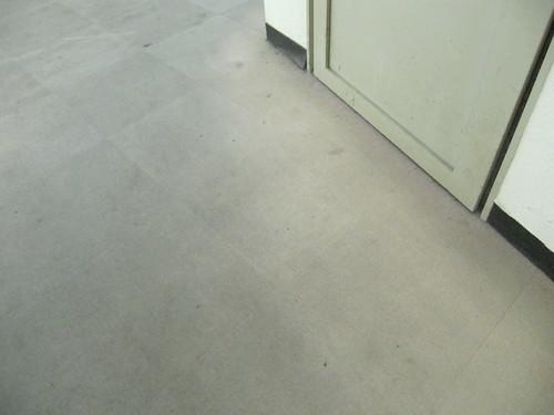 佐賀競馬場の指定席の床