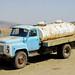 Milk truck in David Gareja