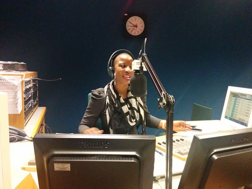 BBC Merseyside radio studio
