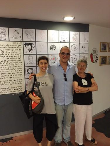 Keren Katz, Assaf Gamzu and Miriam Katin