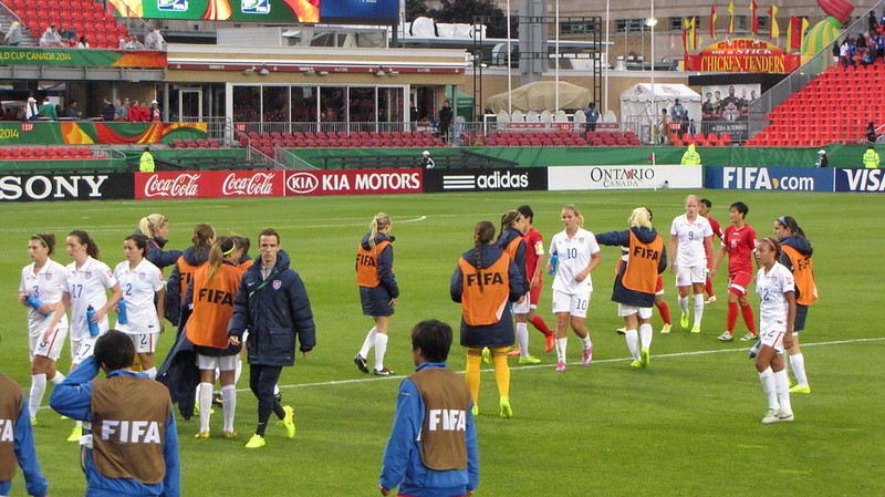 North Korea vs USA, U-20 Women's World Cup - Half Time