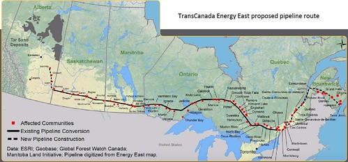 transcanada energy east pipeline