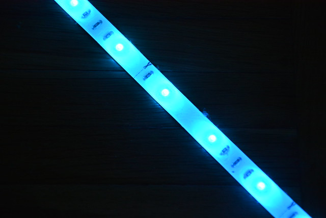 1.led blue
