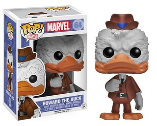 FUNKO POP! MARVEL 系列【霍華德鴨】天降神兵 Howard the Duck