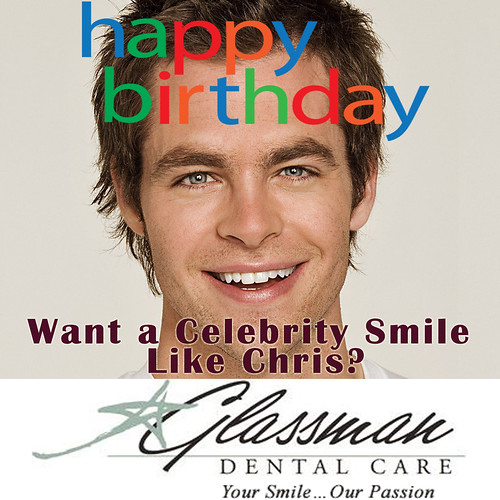 Chris Pine Birthday