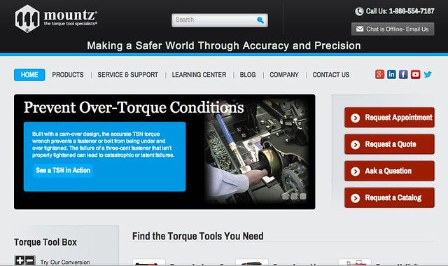 Mountz has over 50 years experience in developing torque testers and sensors