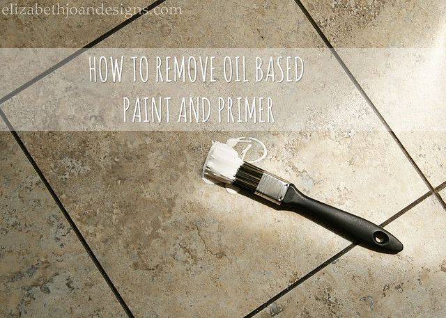 Remove Oil Based Primer 1