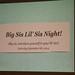 2014-09-06 SFSU Big Sis/Lil Sis Night