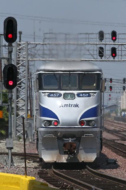Amtrak 457 Up Surfliner San Pedro Junction 07 08 2014