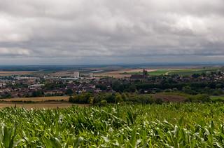 Point de vue sur la ville de Sézanne