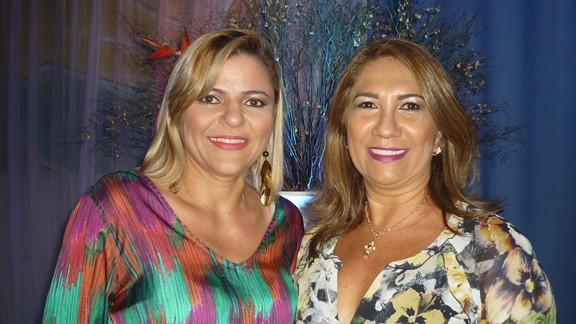 Fabrícia Barrudada e Ruth Oliveira