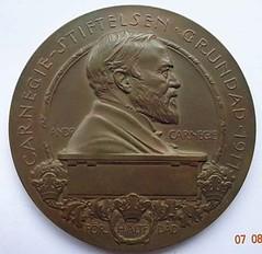 Sweden Carnegie Hero medal obverse