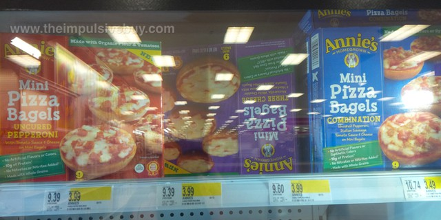 Annie's Homegrown Mini Pizza Bagels